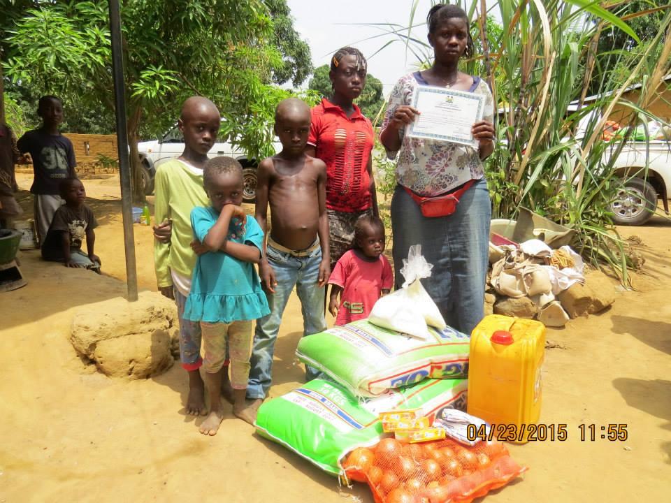 Post-Ebola Feeding Program